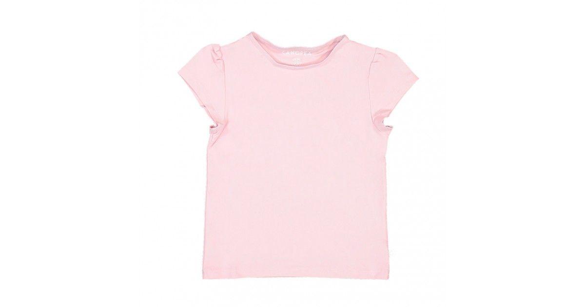 t-shirt anti UV Canopea rose Dragee pour fille et bébé