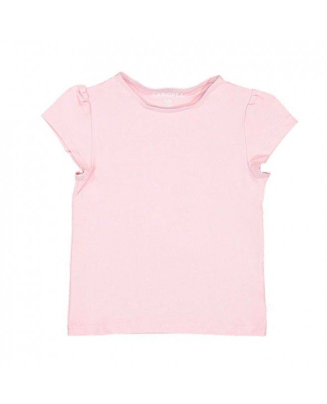 Dragée pink sun protective rashguard for girl and baby