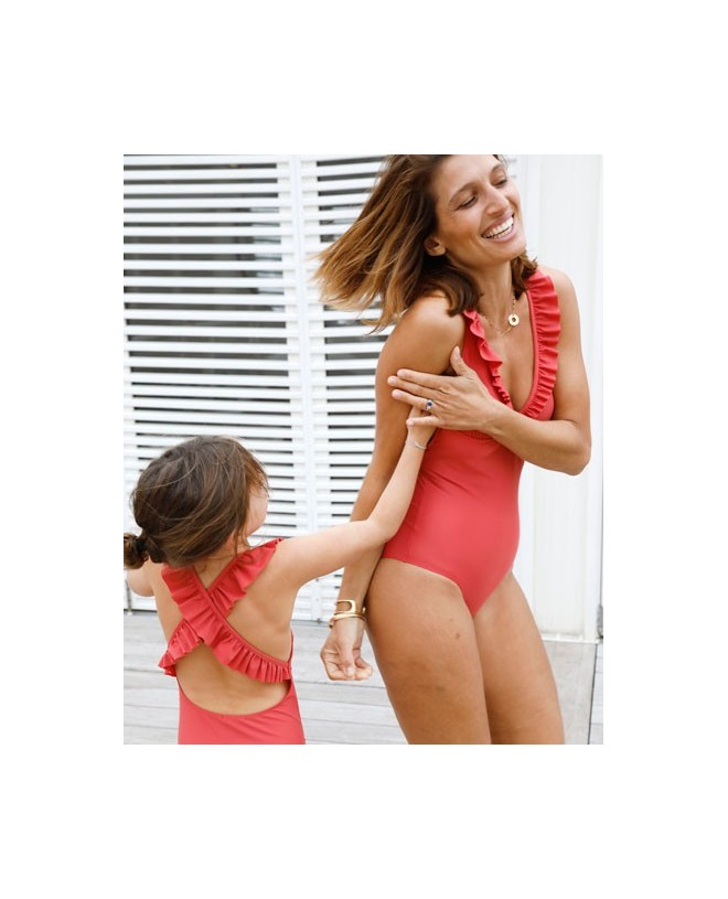 Maillot anti-UV femme enfant fille Canopea