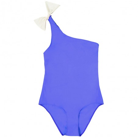 Sun protective swimsuit for mother-daughter ASTRA blue Indigo by Canopea