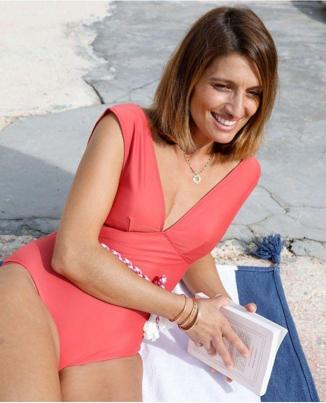 Maillot anti-UV femme PALERMA rouge Grenada de Canopea