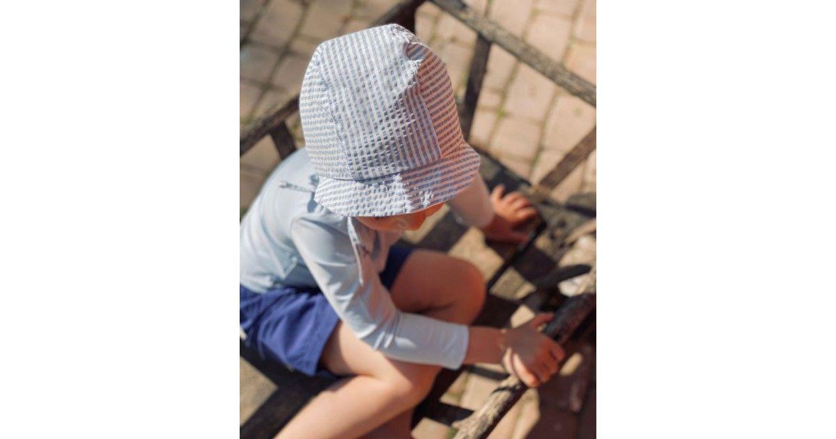 Chapeau anti UV pour enfant, garçon, fille et bébé rouge Grenade de Canopea