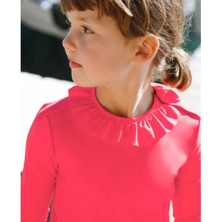Sun protective swimsuit for girl and baby by Canopea x Tartine et Chocolat