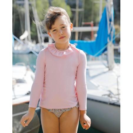 Maillot anti-UV pour fille et bébé de Canopea x Tartine et Chocolat