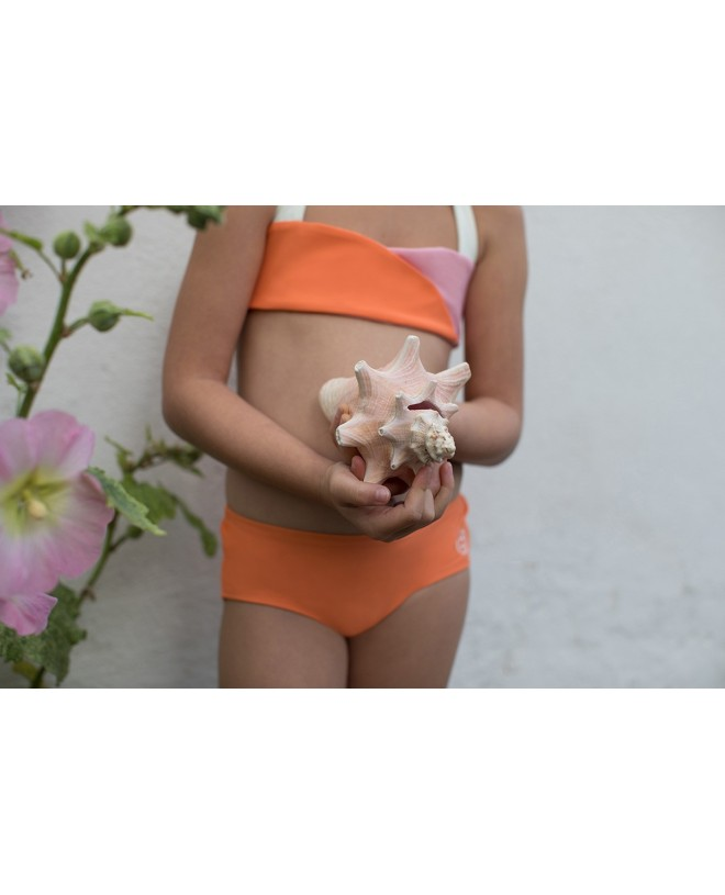 Apricot sun protective boy short for girls