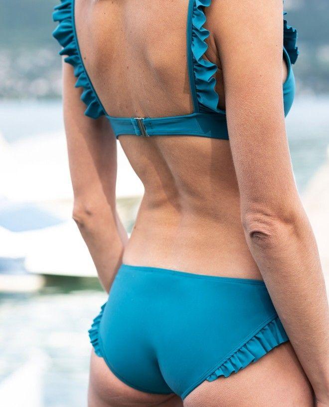 Maillot de bain anti-UV femme DINA vert bari de Canopea