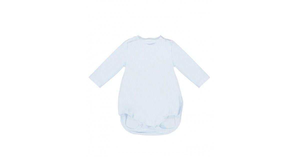Maillot de bain anti-UV bébé PEYO manches longues couleur bleu Ash de Canopea
