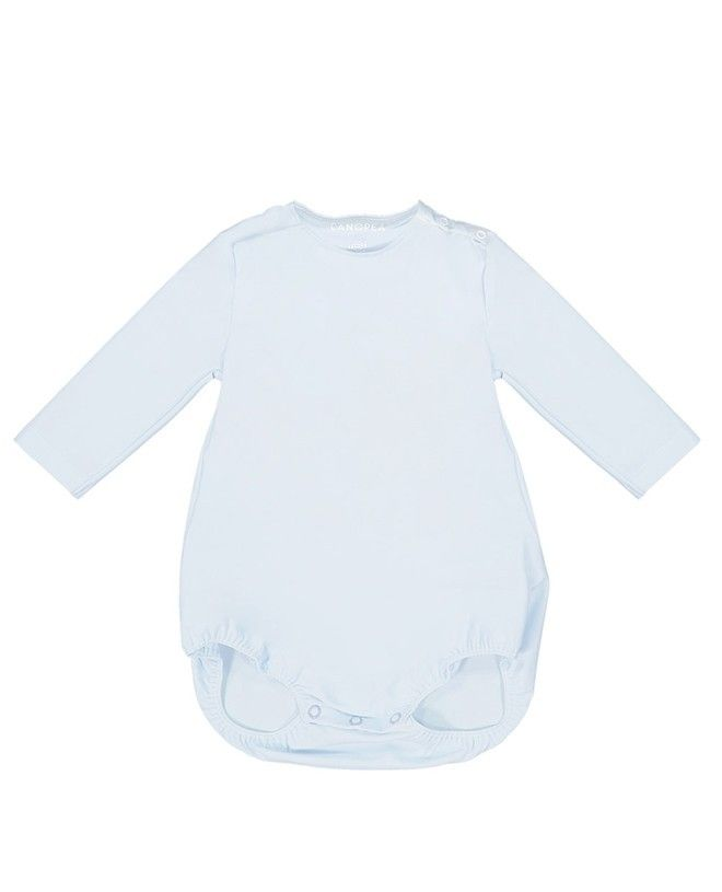 Sun protective swimsuit PEYO for baby in Ash blue by Canopea