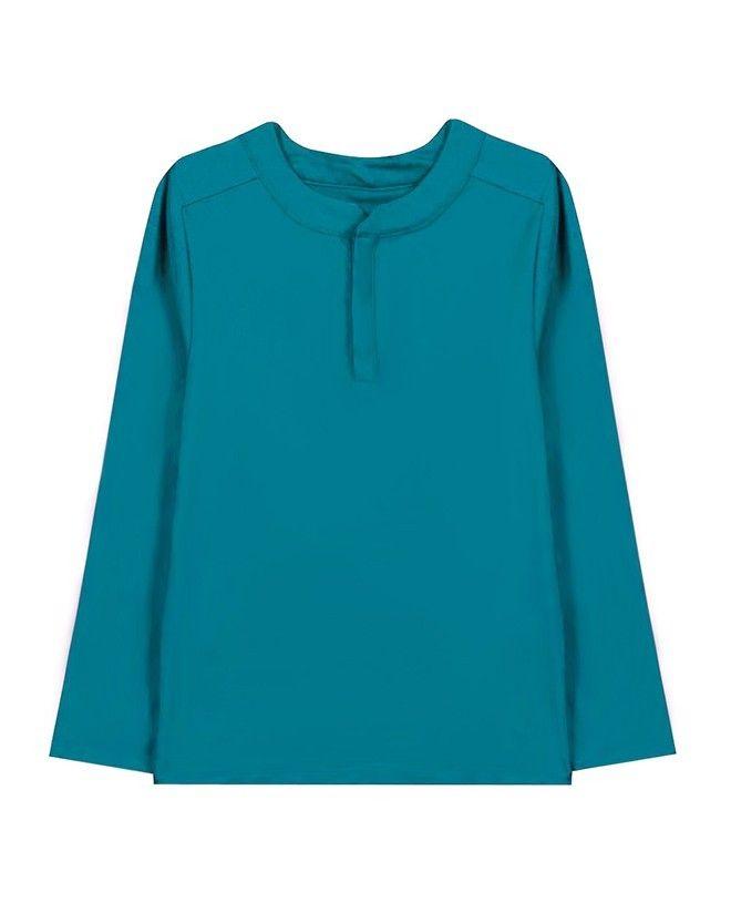 T-shirt anti UV vert bari de Canopea pour garçon, enfant et bébé