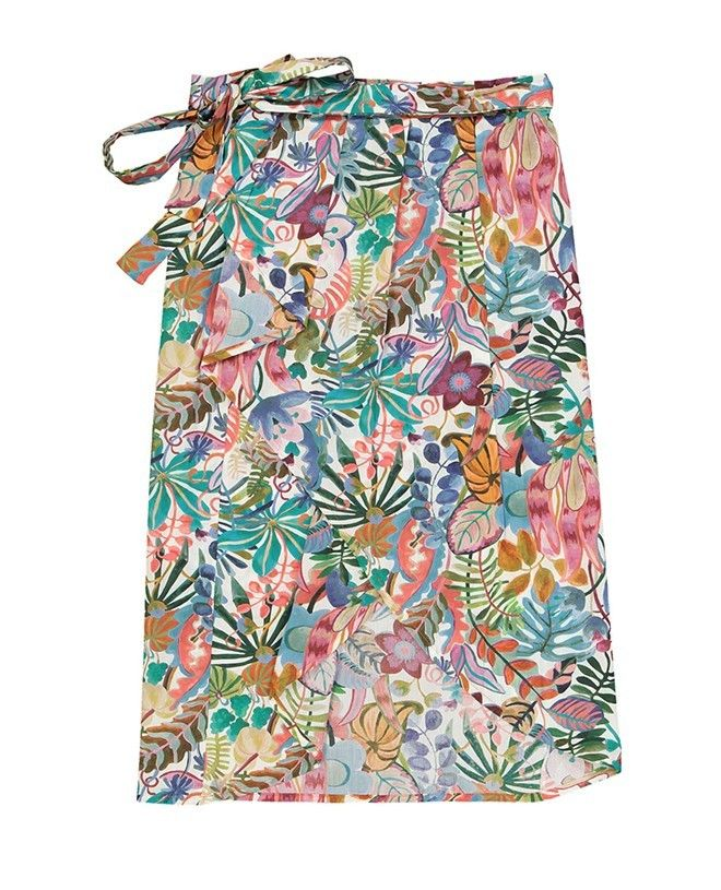Pareo skirt wrap for women ESTEE in Liberty Jungle by Canopea