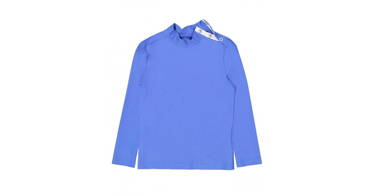 Sun protective rashguard in Indigo blue by Canopea for boy, girl, children, kid and baby