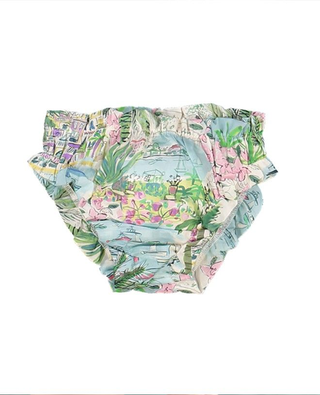 Bikini bottom for girls and babies in Liberty Bloom by Canopea