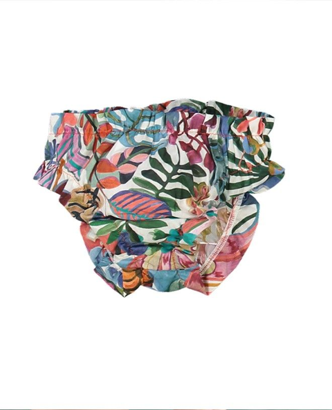 Culotte de bain en Liberty Jungle pour fille de Canopea