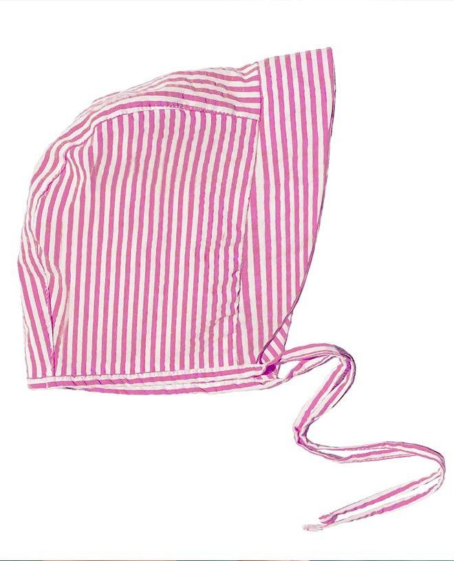 Chapeau anti UV pour enfant, garçon, fille et bébé rouge prune de Canopea