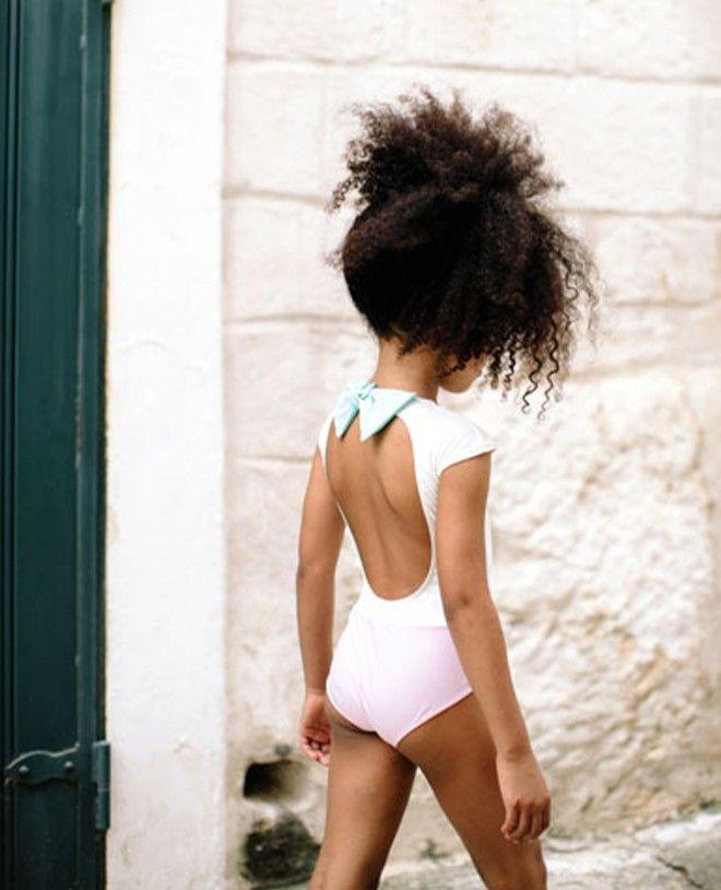 Maillot de bain anti-uv pour fille bi-couleur Aqua de Canopea