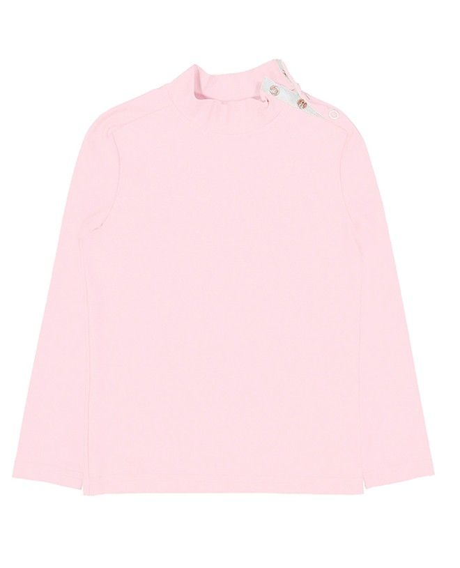 Sun Protective rashguard for children in Dragee pink