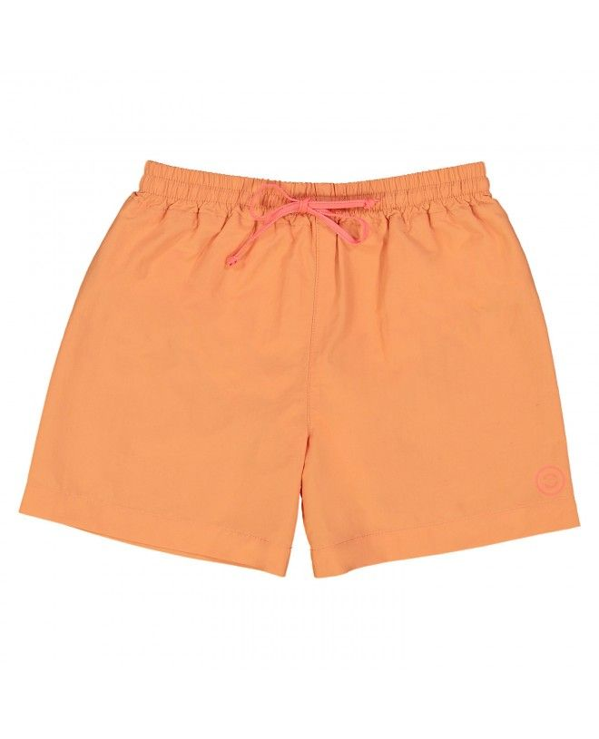 Maillot de bain short garçon orange safran de canopea