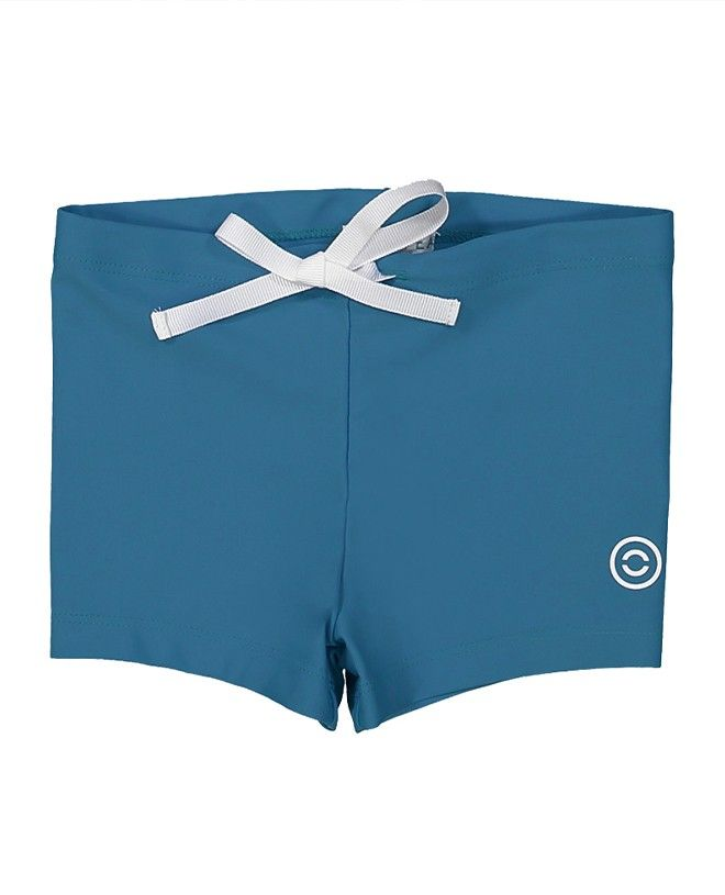 Bari green sun protective UV boxers for boys by CANOPEA