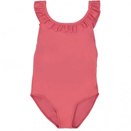 Fragola red girl sun protective swimwear by Canopea