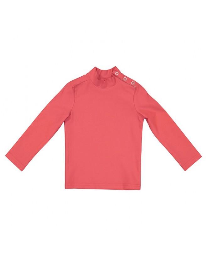 T-shirt anti UV rouge Fragola pour enfant, fille et garçon