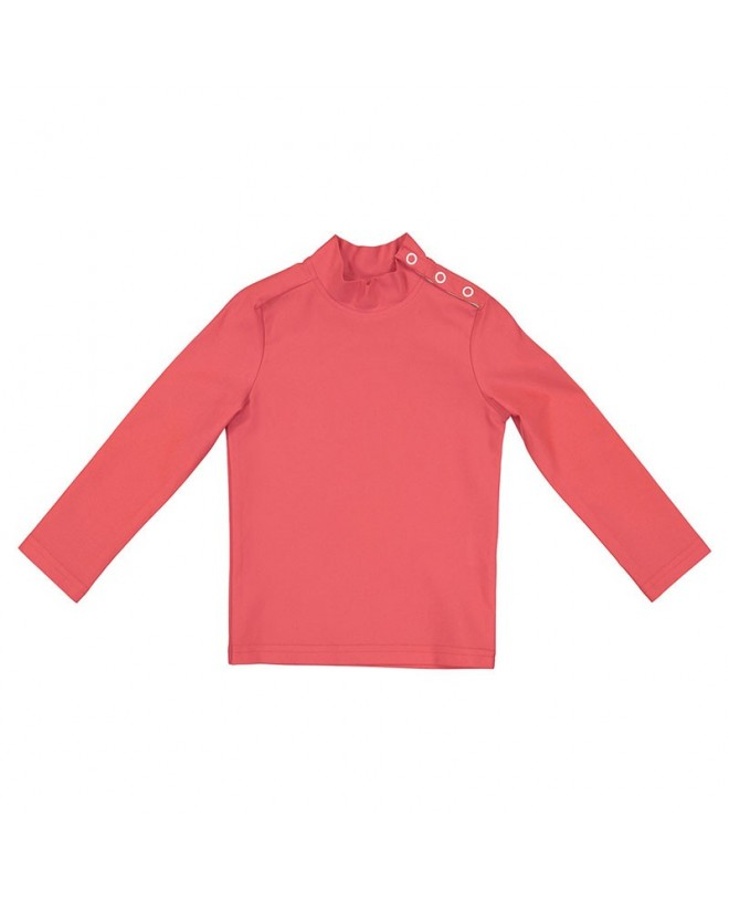 Sun protective rashtop in Fragola red for children