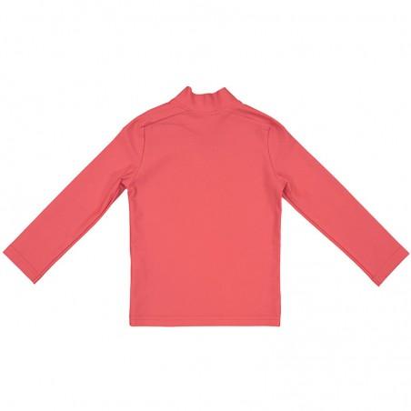 T-shirt anti UV rouge Fragola pour enfant, fille et garçon de Canopea