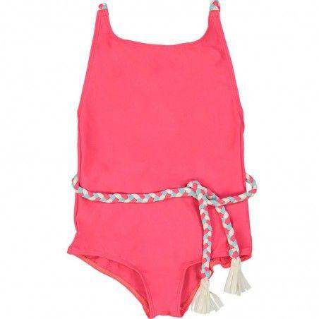 Pitaya pink girl sun protective swimwear by Canopea