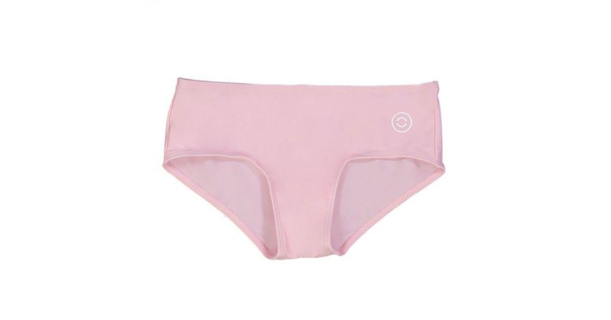 Maillot de bain anti UV rose dragée pour filles