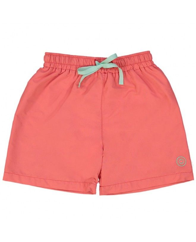 Fragola red swim shorts for boys by Canopea