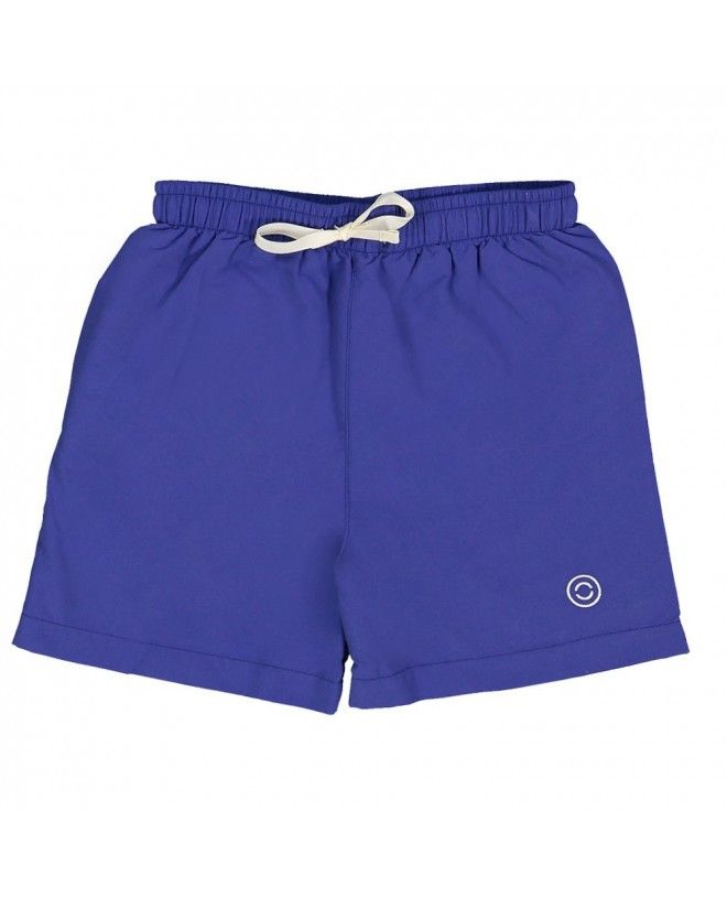 Boy swimming shorts by CANOPEA in Indigo blue
