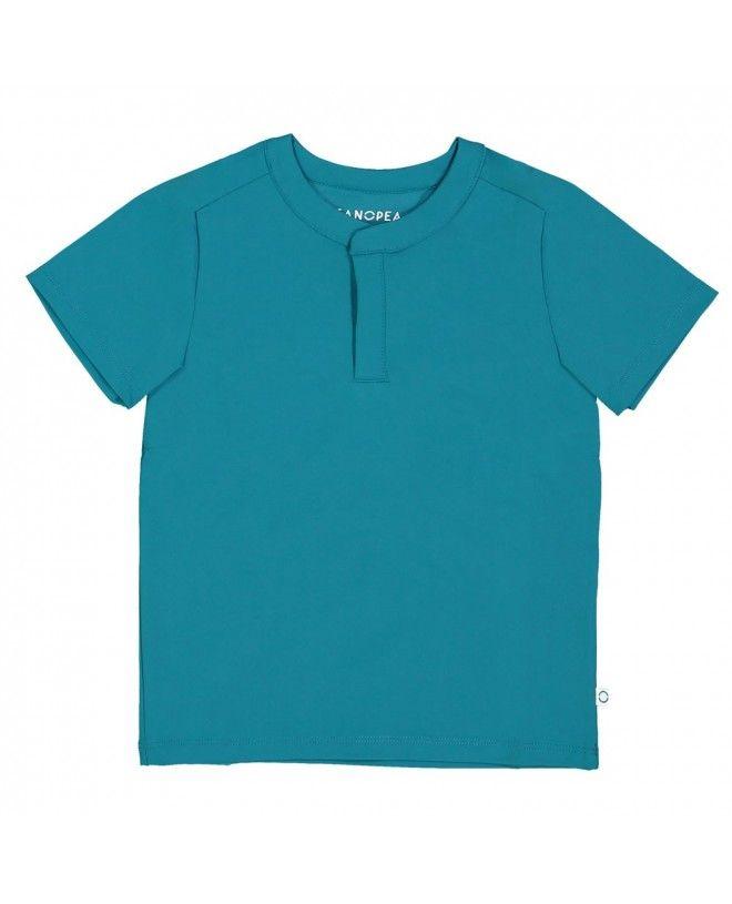 T-shirt anti UV vert Bari de Canopea