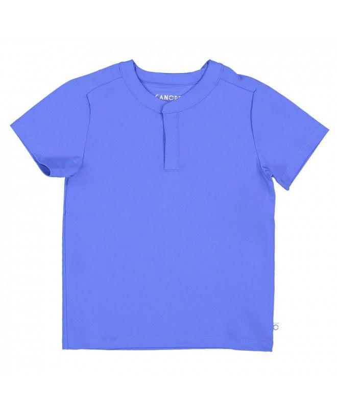 Indigo blue sun protective rashguard for boy, baby and children